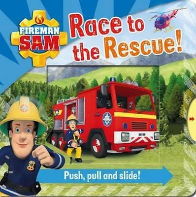 NEW Fireman Sam : Race to the Rescue! By Egmont Publishing UK Novelty Book