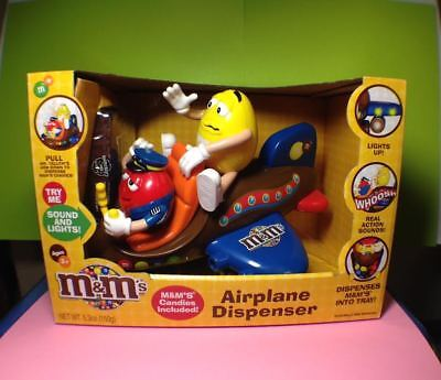 M&M's Collectible Airplane Dispenser