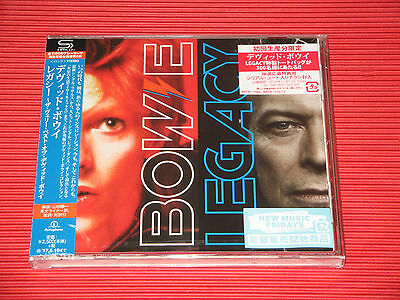 2016 DAVID BOWIE Legacy (Total 20 tracks) JAPAN SHM CD EDITION