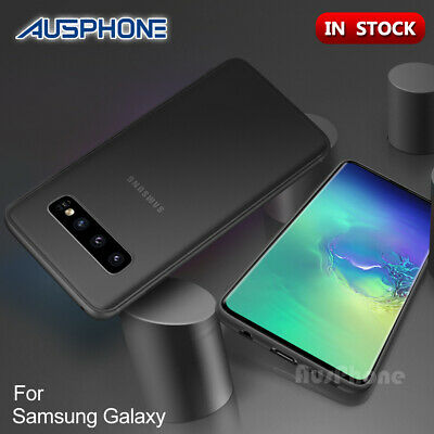 Galaxy S10 S8 S9+ Note 8 9 Case Ultra  Skin Slim Matte Back Cover For Samsung