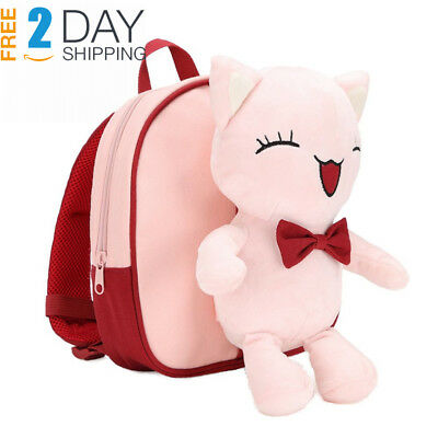 Minibalabala Toddler Kids Backpack Cute School Travel Backpack Multicolored