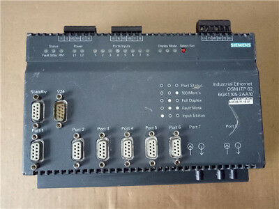 1PC USED Siemens Industrial Ethernet switch 6GK1105-2AA10