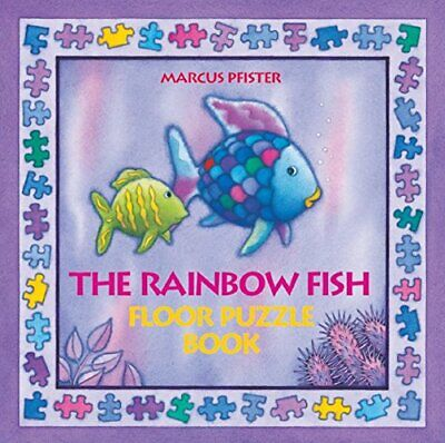 Rainbow Fish Floor Puzzle Board Book by Pfister, Marcus Board book Book The