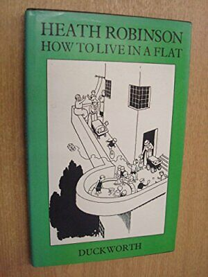 How to Live in a Flat by Browne, K. R. G. Hardback Book The Cheap Fast Free Post