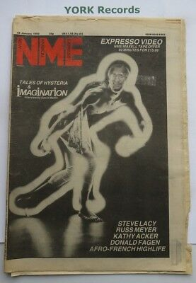 NEW MUSICAL EXPRESS NME - January 22 - 1983 - Imagination / Steve Lacy