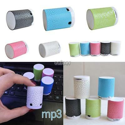 Mini altavoz inalámbrico portátil Bluetooth para iPhone iPad iPod Computer ENE!