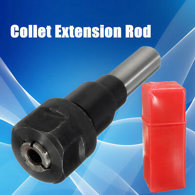 1/2'' StraightCollet Chuck CNC Engraving Machine Router Lathe Extension Rod Tool
