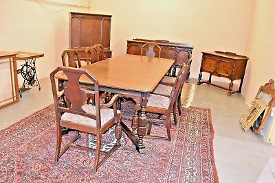 Antique Or Vintage Lammert Furniture Dining Room Set St Louis