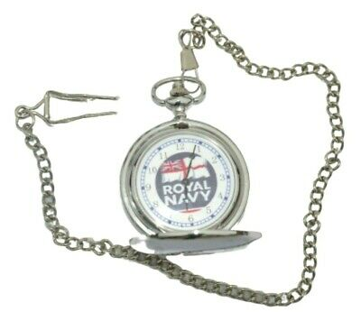 Royal Navy Army Pocket Watch With Or Without Engraving In Gold Or Silver