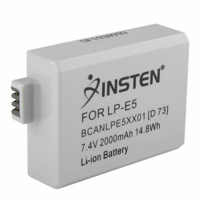 INSTEN® Battery for Canon LP-E5 LPE5 EOS 500D 1000D Kiss X2 F