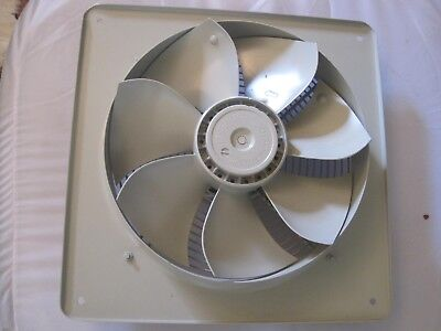 Industrial Extractor Fan 315 Dia FE031-4EQ Ziehl German High Quality 230v Plate