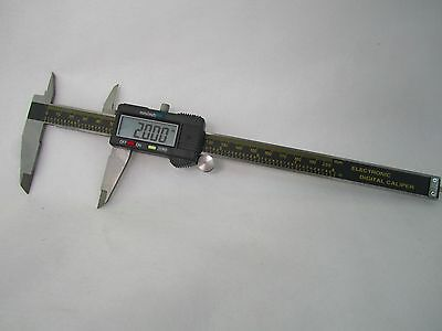 8 Inch Digital Caliper Measures Inches and Millimeters with Case and Battery