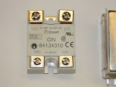 New Crouzet Solid State Relay 4-32vdc 48-660vac 25A  A3
