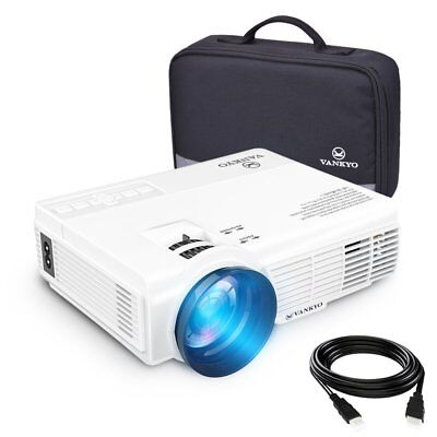 VANKYO LEISURE 3 LED Mini Portable Projector 1800 Lumens 1080P