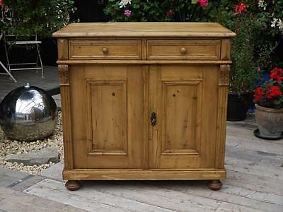 Wow! Lovely Old Antique (Victorian) Pine Dresser Base/sideboard/cupboard/cabinet