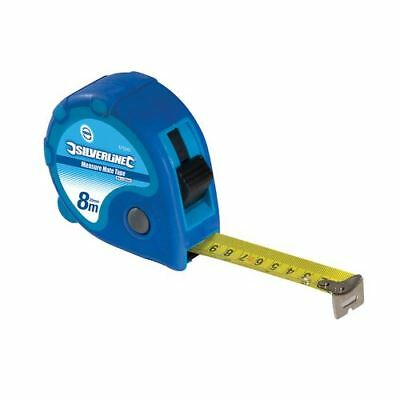 Silverline 675242 Measure Mate Tape 8m / 26ft x 25mm