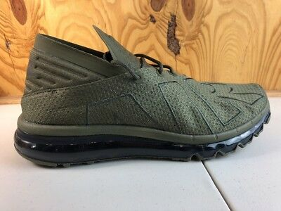 e09eed2eb143 Nike Air Max Flair Uptempo Olive sequoia Running 942236-200 Mens Size 11.5  New