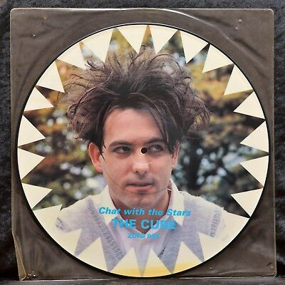 "The Cure - Chat with The Stars - Interview - 12"" - Vinyl - UK - ZUFG 004 -"