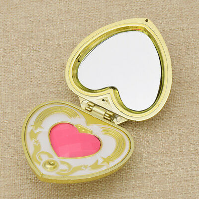 Sailor Moon Moonlight Memory Series Heart Mirror Case Cosmetic Make Up Mirror