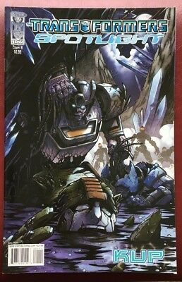 Transformers Spotlight Kup #1 Cover B Nm