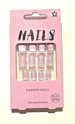 Fashion Nails - False Nails From Superdrug with 2g nail glue included