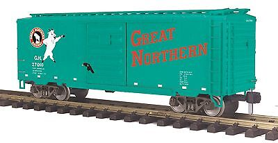 MTH 70-74084, One Gauge, 40' Box Car - Great Northern - Car #27010