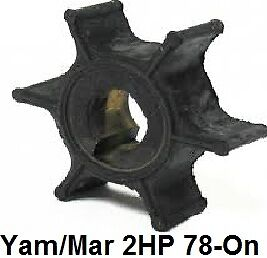 Yamaha Outboard Pump Impeller 2hp 78-2012 646-44352-00  Mariner 47-80395M