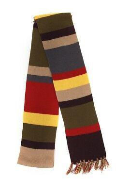 Doctor Who The 4th Doctor Scarf, Knitted Scarf, 6 Feet Long, Officially Licensed