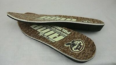 Men's Georgia Boot Thick Advanced Memory Polyurethane AMP Replacement Insoles