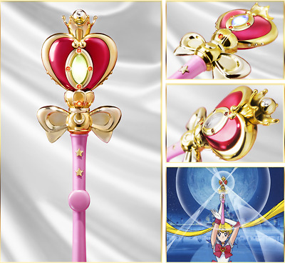 Brand New Sailor Moon Spiral Heart Moon Rod Proplica by Bluefin Cosplay