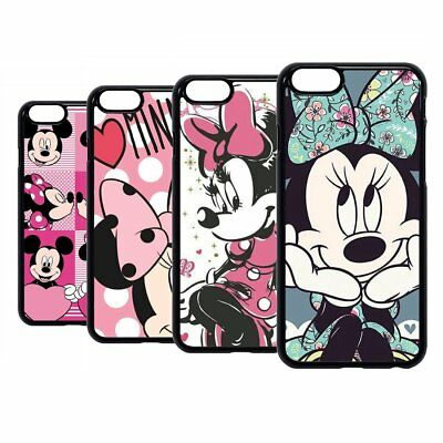 Mickey Mouse Minnie Disney Cartoon Hard Case Cover For iPhone iPod 6 7 8 X Plus