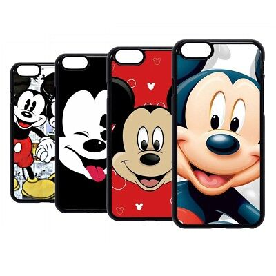 Mickey Mouse Mick Disney Cartoon Hard Case Cover For iPhone iPod 6 7 8 X Plus