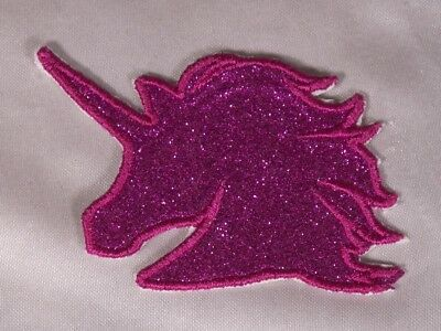 Embroidered Glitter Sparkle Berry Pink Diamond Gem Applique Patch Iron On Sew On