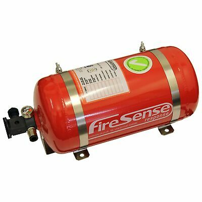 SPA Design 4L FIA Electrical Automatic Saloon Car Racing AFFF Fire Extinguisher