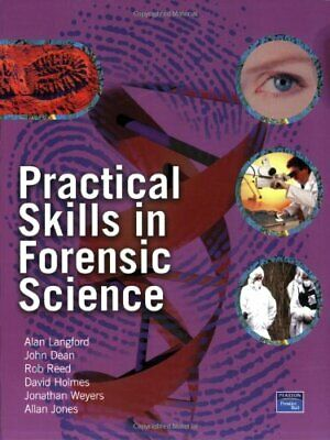 Practical Skills in Forensic Science by Allan Jones Paperback Book The Cheap