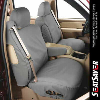 Covercraft Carhartt SeatSaver Front Row Custom Fit Seat Cover for Select Chevrolet Colorado//GMC Canyon Models Duck Weave Brown SSC1347CABN