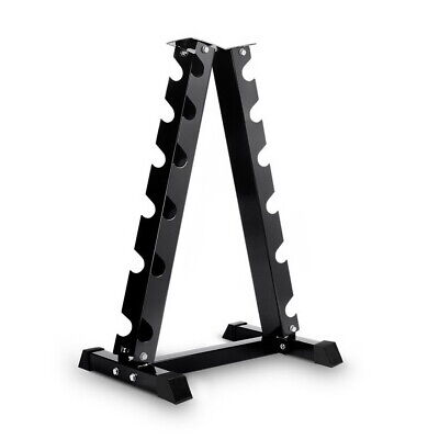 Vertical Dumbell Storage Weight Rack - 6 Pairs Dumbbell Weight Set Home Gym NEW