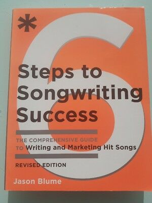 6 Steps To Songwriting Success Studio And Music Book Buch 50% vom NP.