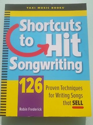 Shortcuts To Hit Songwriting Music And Studio Book