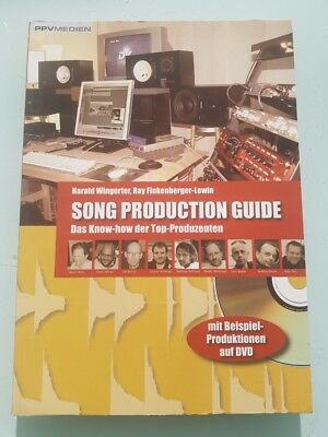 Song Production Guide Studio Music Book Buch Inkl CD -50% vom Neupreis