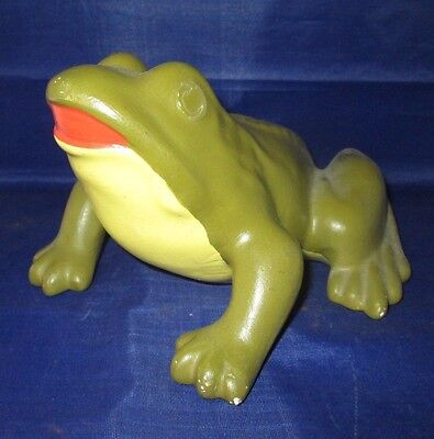 Frog Toad Figurine Ceramic Medium Size