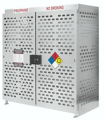 Propane Retail Exchange Cage for 24 BBQ 20lb Cylinders
