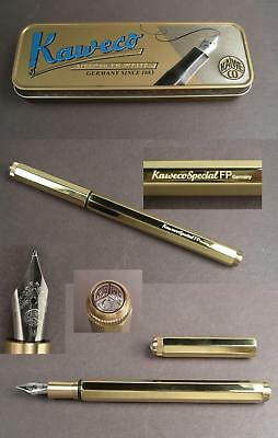 Kaweco Special Fountain Pen Holder Brass NEW IN BOX #