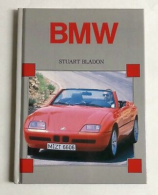 Vintage 1992 BMW Automobiles HARDCOVER Book ~ In Excellent Condition