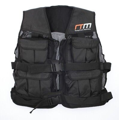QUALITY Weighted Vest - 20LBS LOSE WEIGHT CALORIES FAST & FREE POSTAGE WARRANTY