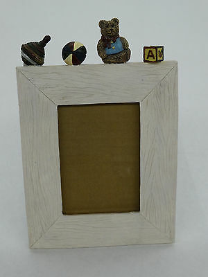 """Resin  Baby Photo Picture Frame For 3 1/2"""" x 5"""" Picture"""
