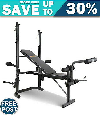 Everfit 7-In-1 Weight Bench Multi-Function Power Station Fitness Gym Free Post