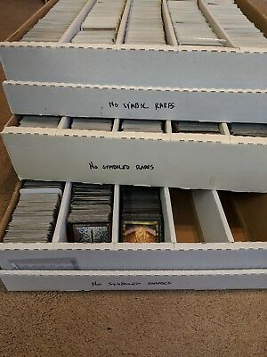 100 OLD RARE cards ONLY Lot - Out of print - Set - Magic the Gathering MTG FTG