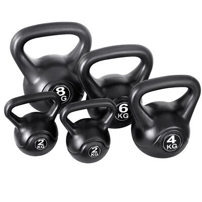 QUALITY Everfit Set of 5 Kettle Bell Set FAST & FREE POSTAGE WARRANTY