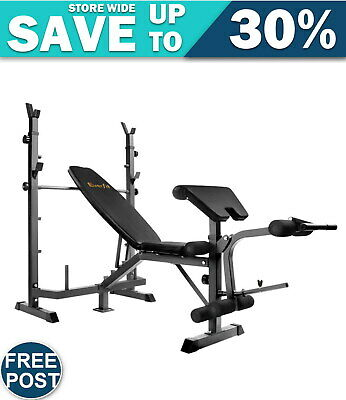 Everfit 9-In-1 Weight Bench Multi-Function Power Station Fitness Gym Free Post